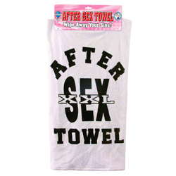 After Sex Towel Wipe Away Your Sins