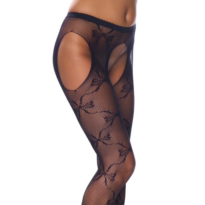 Lace Tights: A Timeless Piece