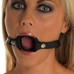 The ideal gag or making sure your lover remains ready to give you oral ...
